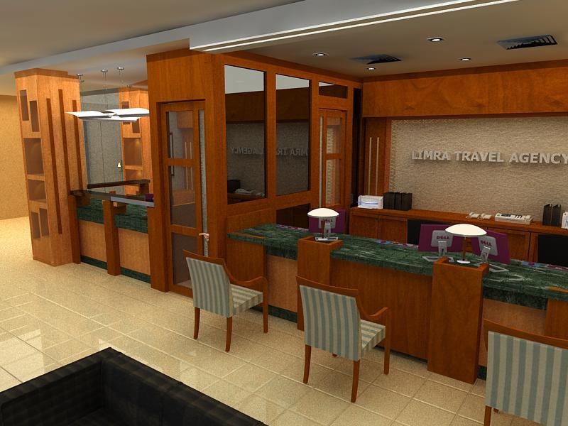 Interior design freelance september 2010 for Interior design travel agency