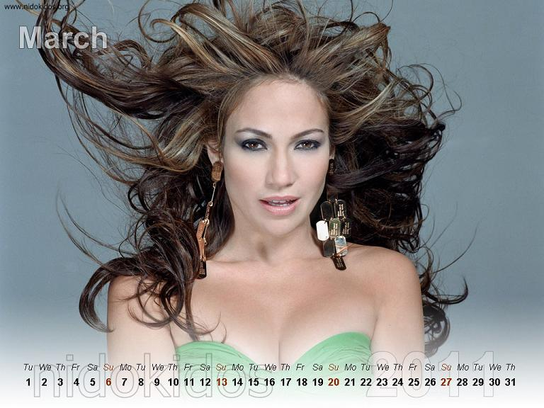 Jennifer Lopez 2011 Wallpaper