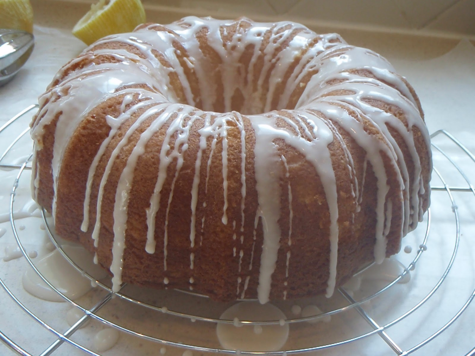 Cook with Claire: Lemon Buttermilk Pound Cake