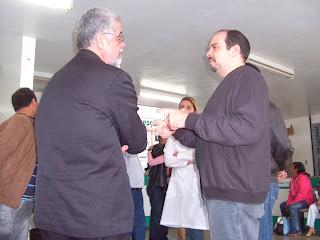 Solla e Magalhães juntos no encontro
