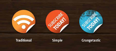 Simple Subscribe badges