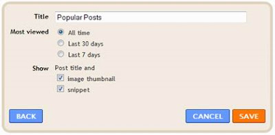 popular post gadget