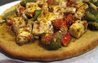 Tofu Tikka Pizza pic 1