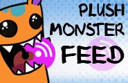 Plush Monster Feed