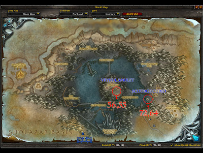 Quests In Icecrown. Scourge as he should.
