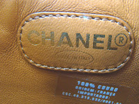 OPORTUNIDADE - Bolsa Chanel Original - Couro Caviar caramelo!Com código interne e comprovante de autenticidade!
