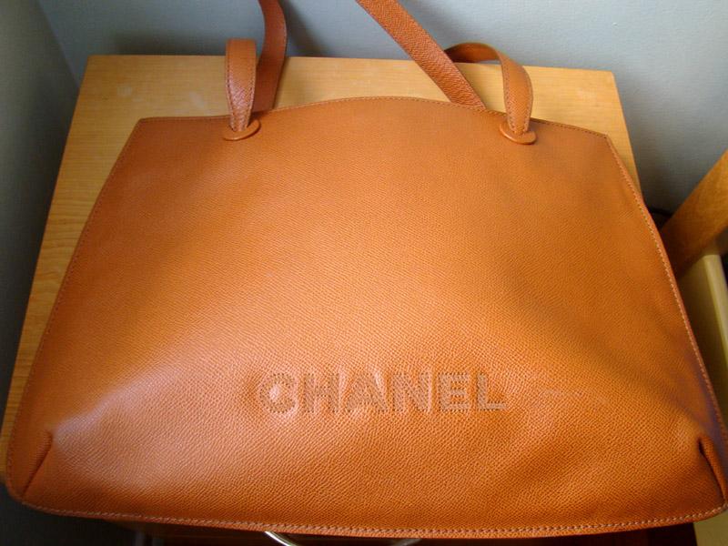 0e5a9486fc2 OPORTUNIDADE - Bolsa Chanel Original - Couro Caviar caramelo!Com código  interne e comprovante de