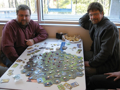 Alexander Vaschillo and game designer Andrei Burago
