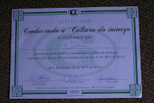 Certificado do Seminário