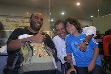 Marcus Kinder (Baterista do Ed Motta e Gabriel Pensador), Moisés Di Souza e Caio Fábio