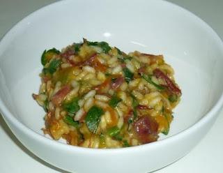 receita risoto carne seca