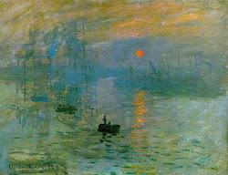 Claude Monet - Impressão, Nascer do Sol
