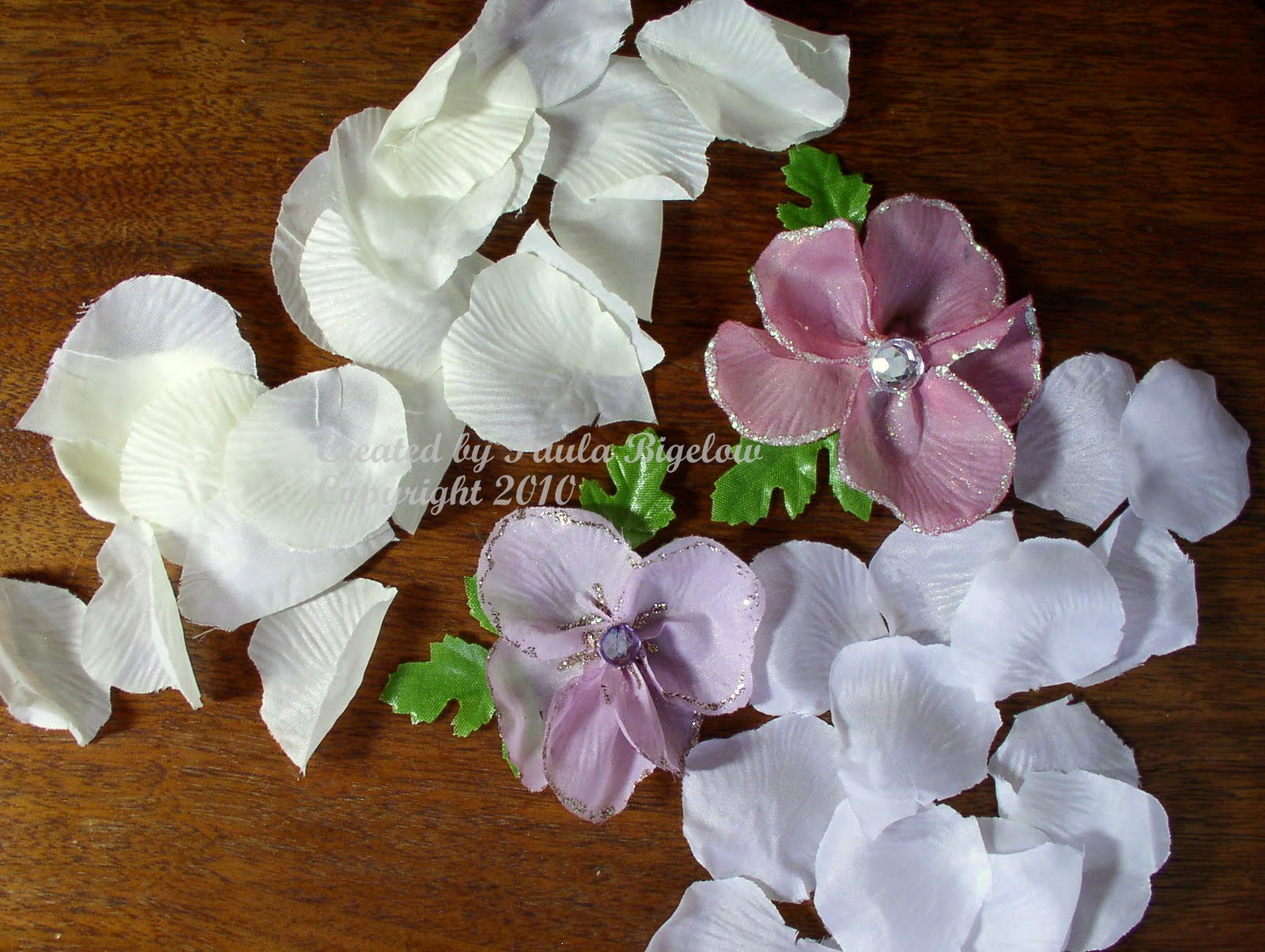 Crop notes and crafts rose petal flowers - Crafts with flower petals ...