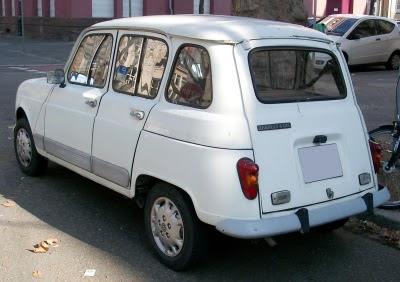 coches de los 80 renault 4 trasera