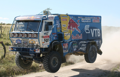 videos de camiones kamaz dakar