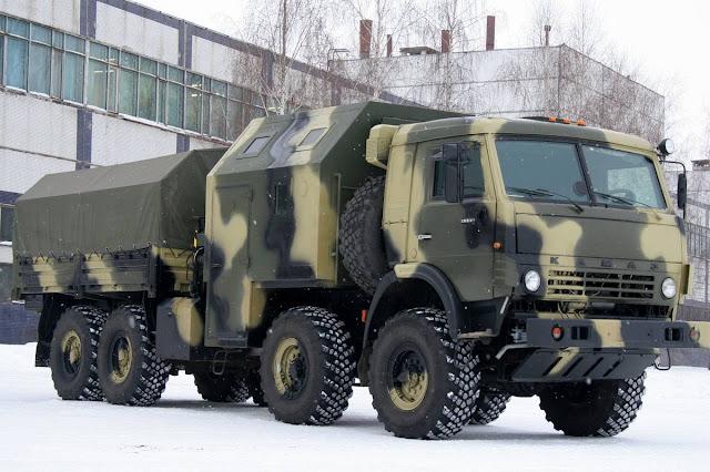 videos de camiones kamaz militar