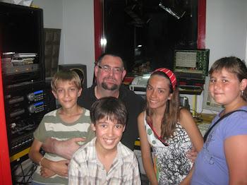 Visites als estudis de Ràdio Vic