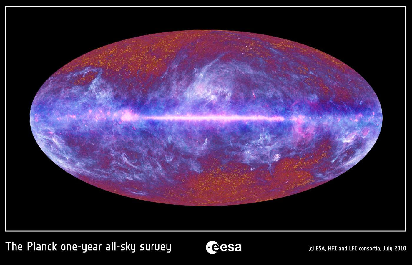 El primer mapa completo del universo