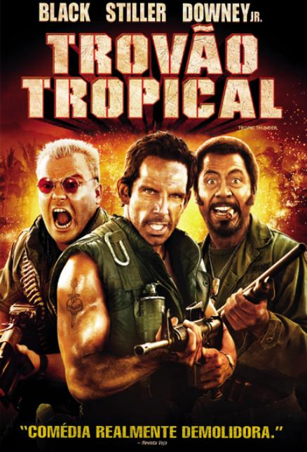 Trovão Tropical - HD 720p
