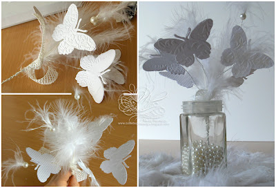 Butterfly Centerpieces, Butterfly Wedding Centerpieces