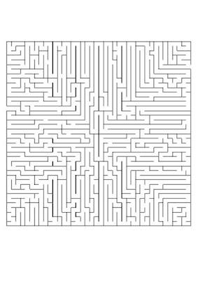 jogos labirinto para imprimir desenhos para colorir