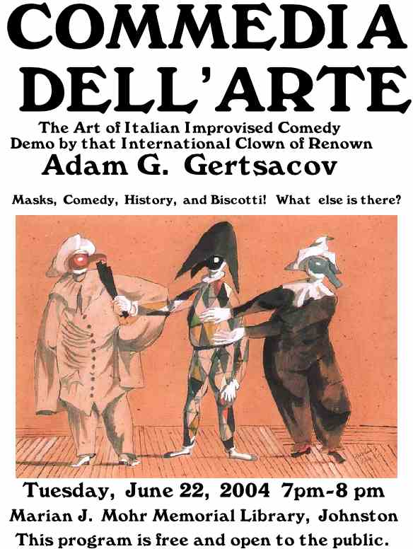 an analysis of the commedia dellarte