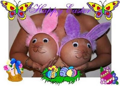 easter bunny tits