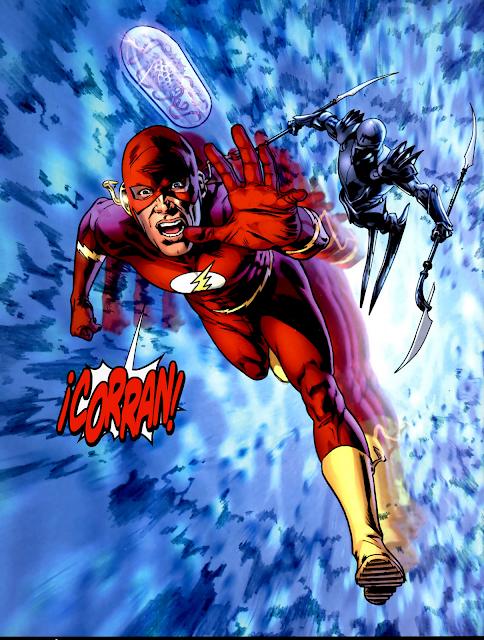 La muerte en los comics Flash+22