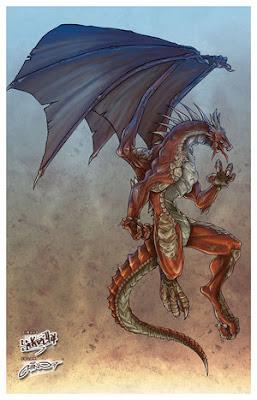 """Estrenando el """"Neoboletín"""". Dragon_by_iChino"""