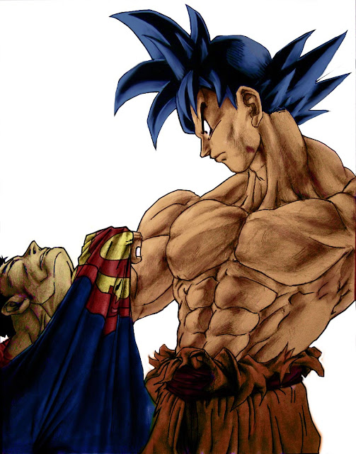Superman vs Son Goku quien gana? Goku_vs_superman_finished_by_Bimago
