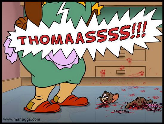 Tom y Jerry - Mama yo quiero !!! LOL