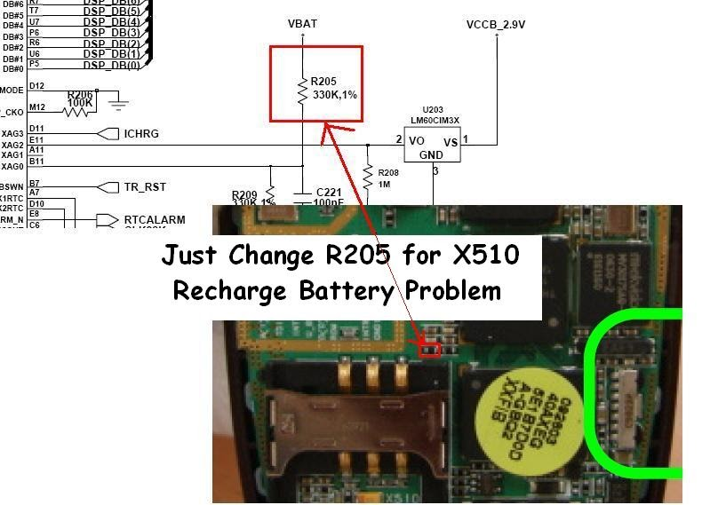 Samsung Sgh X510 Quot Recharge Battery Quot Problem Tested