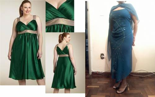 vestidos de festa para gordas. vestidos de festa para