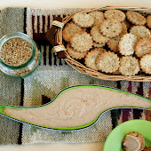 Crackers e Hummus