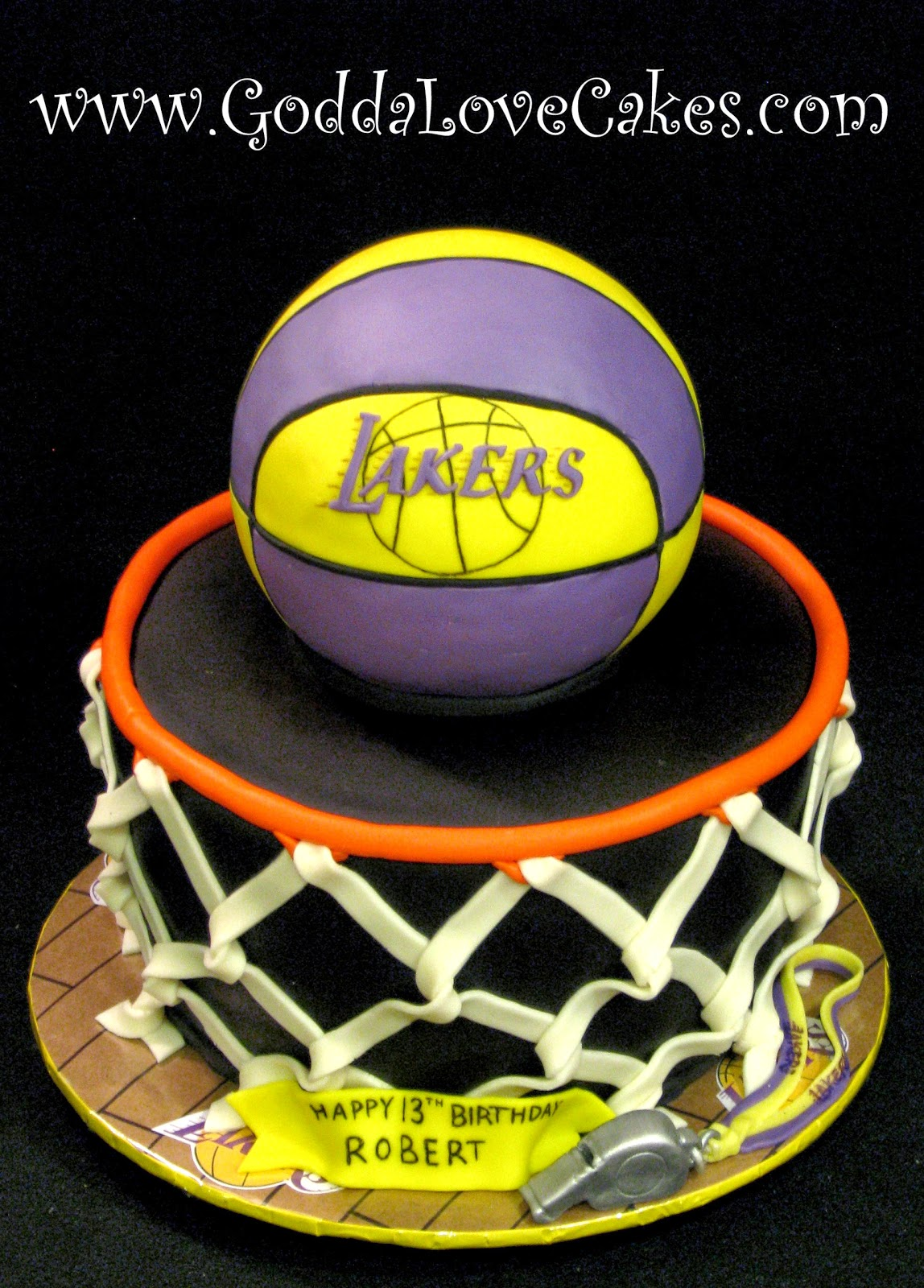 Basketball Hoop Cake Godda Love Cakes