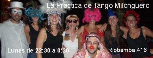 Practica de Tango Milonguero