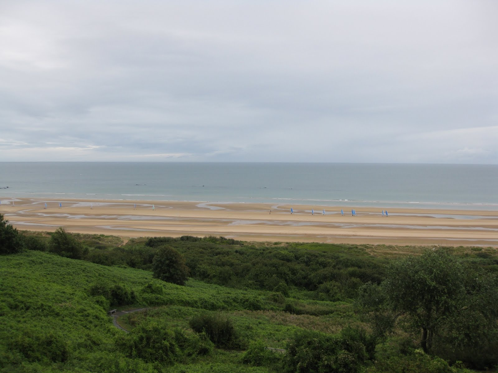 Here is Omaha Beach: