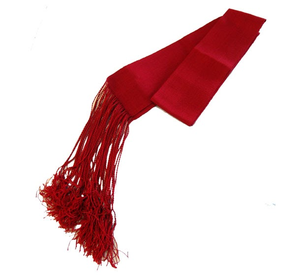 Chaqueta de huasa roja