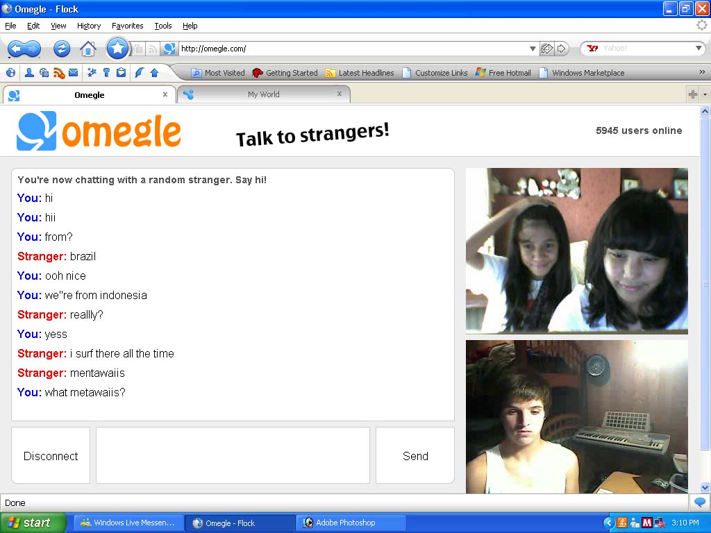 chat with omegle girls