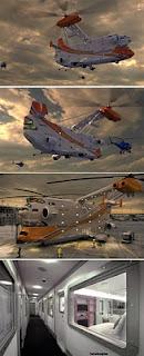 Hotel Dalam Helicopter Pertama di Dunia