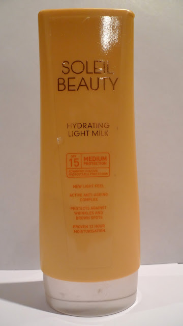 Tesco Soleil Beauty Hydrating Light Milk SPF 15