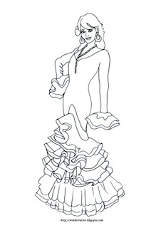 traje flamenca feria abril Sevilla