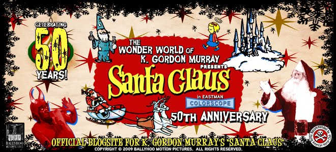 Santa Claus Conquers The Devil: 50 Years of K. Gordon Murray's SANTA CLAUS