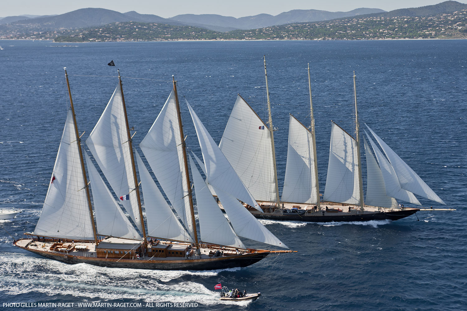 The grande finale of the yachting season – certainly for the classic yachts ...