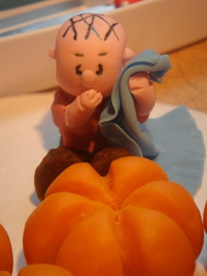 linus on the great pumpkin charlie brown cake