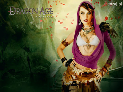 There is one more pretty lady posing as one the girls from Dragon Age,