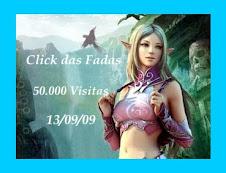 O CLICK DAS FADAS COMEMORA COM ELFOS E FADAS  50.000 VISITAS