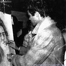 O artista Delmoreno