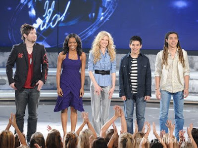 The American Idol 2008 Top 5