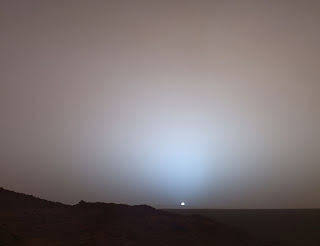 You see this Mars sunset? THIS IS A LIE.